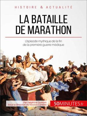 cover image of La bataille de Marathon