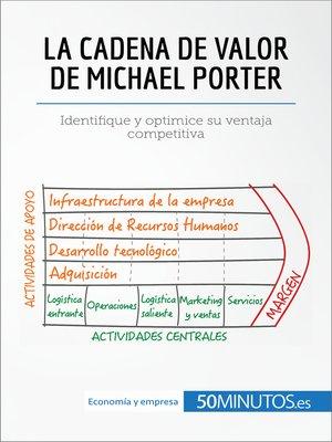 cover image of La cadena de valor de Michael Porter