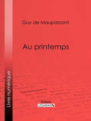 cover image of Au printemps