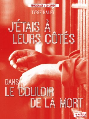 cover image of J'étais à leurs côtés dans le couloir de la mort