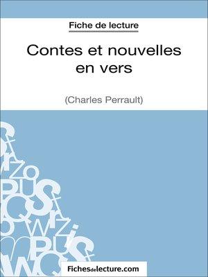 cover image of Contes et nouvelles en vers de Charles Perrault (Fiche de lecture)