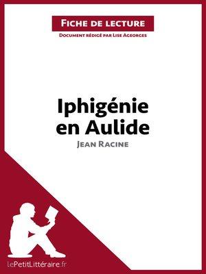 cover image of Iphigénie de Racine (Fiche de lecture)