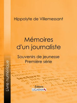 cover image of Mémoires d'un journaliste