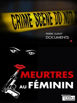 cover image of Meurtres au féminin