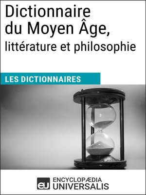 cover image of Dictionnaire du Moyen Âge, littérature et philosophie