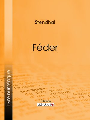 cover image of Féder