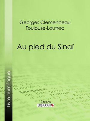 cover image of Au pied du Sinaï