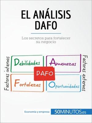 cover image of El análisis DAFO