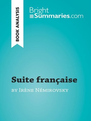 cover image of Suite française by Irène Némirovsky (Book Analysis)