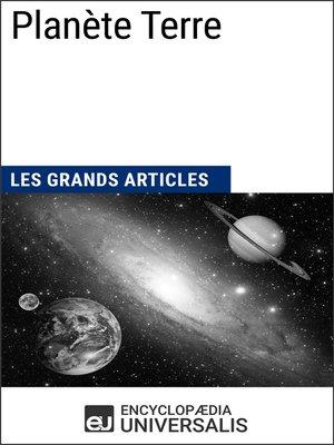 cover image of Planète Terre