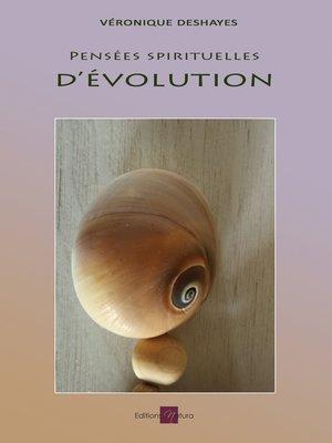 cover image of Pensées spirituelles d'évolution