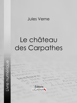 cover image of Le Château des Carpathes