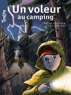 cover image of Un voleur au camping