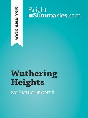 cover image of Wuthering Heights by Emily Brontë (Book Analysis)