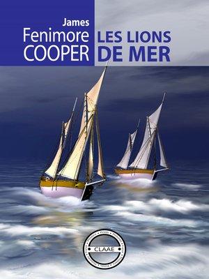 cover image of Les lions de mer