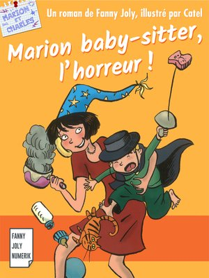 cover image of Marion baby-sitter, l'horreur