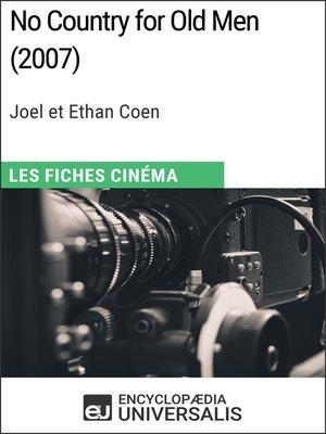 cover image of No Country for Old Men de Joel et Ethan Coen