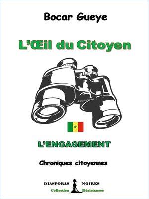 cover image of L'œil  du Citoyen