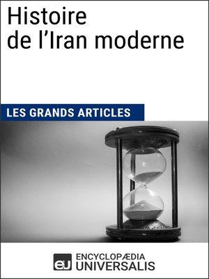 cover image of Histoire de l'Iran moderne