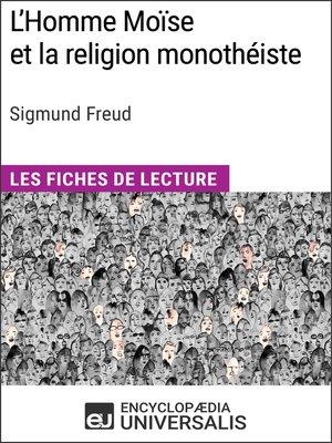 cover image of L'Homme Moïse et la religion monothéiste de Sigmund Freud