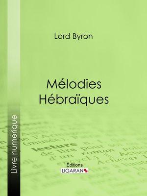 cover image of Mélodies Hébraïques
