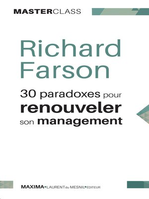 cover image of 30 paradoxes pour renouveler son management