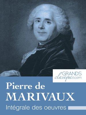 cover image of Pierre de Marivaux