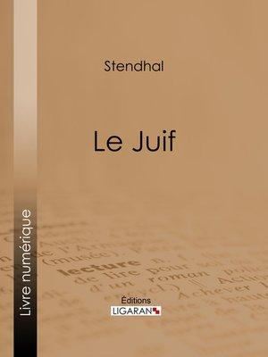 cover image of Le Juif