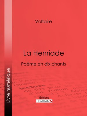 cover image of La Henriade