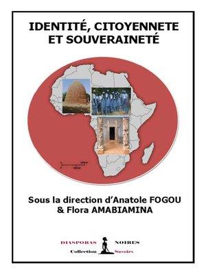 cover image of Identité, citoyenneté et souveraineté