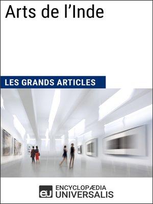 cover image of Arts de l'Inde
