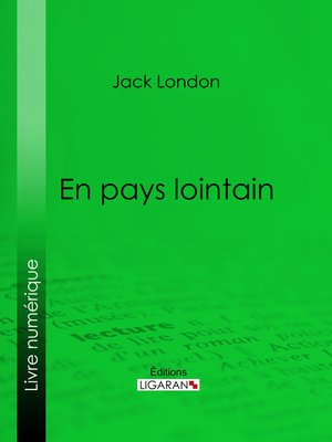 cover image of En pays lointain