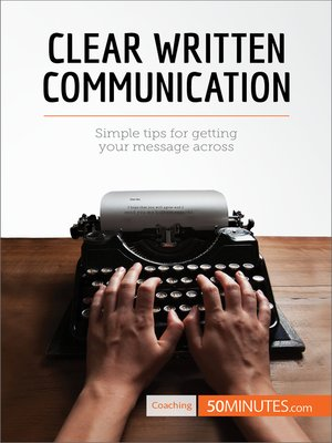 cover image of Clear Written Communication
