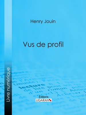 cover image of Vus de profil