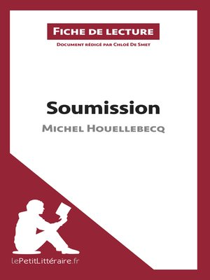 cover image of Soumission de Michel Houellebecq (Fiche de lecture)