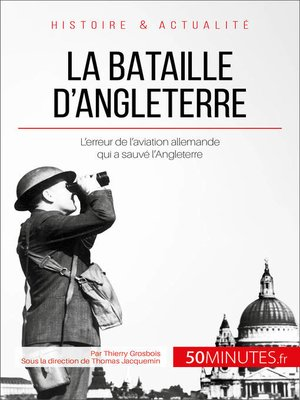cover image of La bataille d'Angleterre