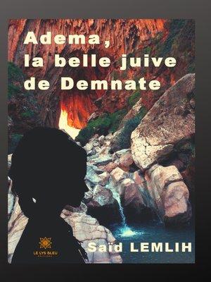 cover image of Adema, la belle juive Demnate