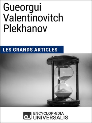 cover image of Gueorgui Valentinovitch Plekhanov