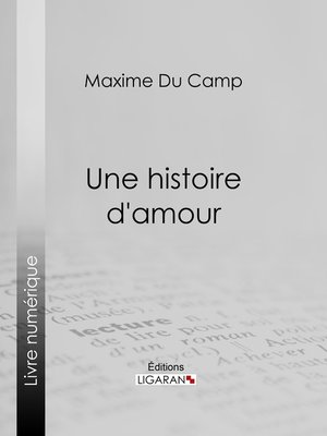 cover image of Une histoire d'amour