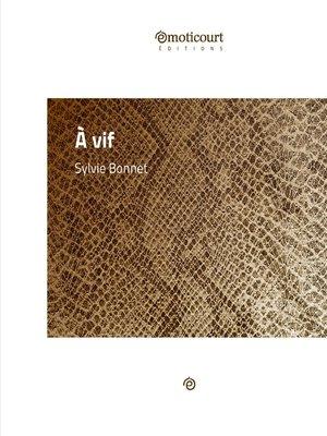 cover image of À vif