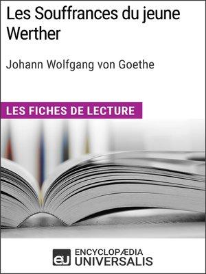 cover image of Les Souffrances du jeune Werther de Goethe