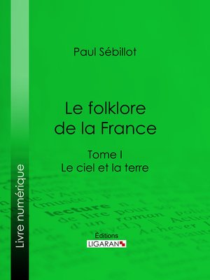 cover image of Le Folk-Lore de la France