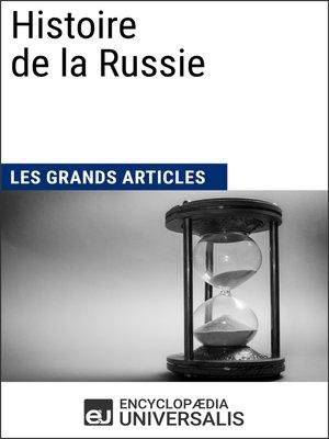 cover image of Histoire de la Russie