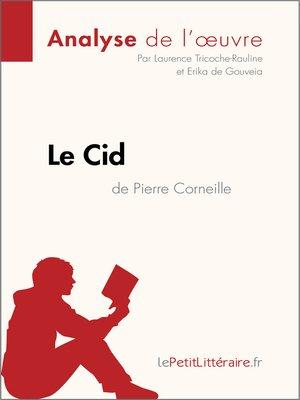 cover image of Le Cid de Corneille (Fiche de lecture)