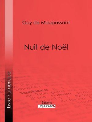 cover image of Nuit de Noël