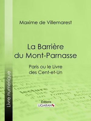 cover image of La Barrière du Mont-Parnasse