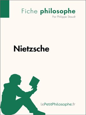 cover image of Nietzsche--Fiche philosophe