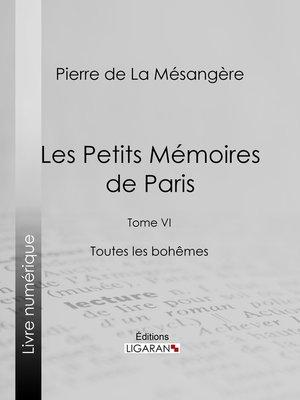cover image of Les Petits Mémoires de Paris