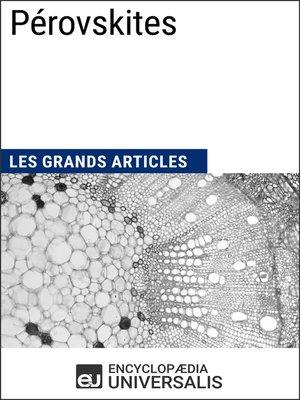 cover image of Pérovskites