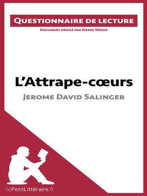 cover image of L'Attrape-coeurs de Jerome David Salinger